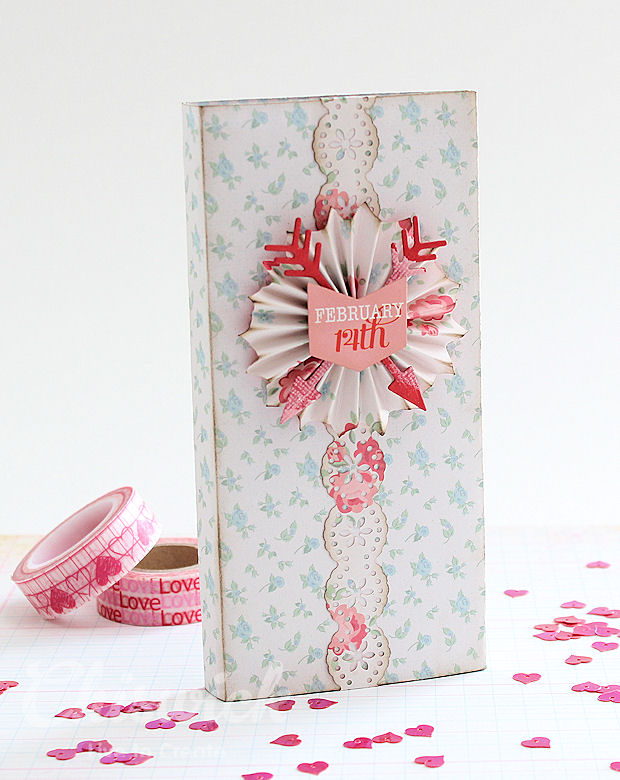 valentine chocolate wrapper