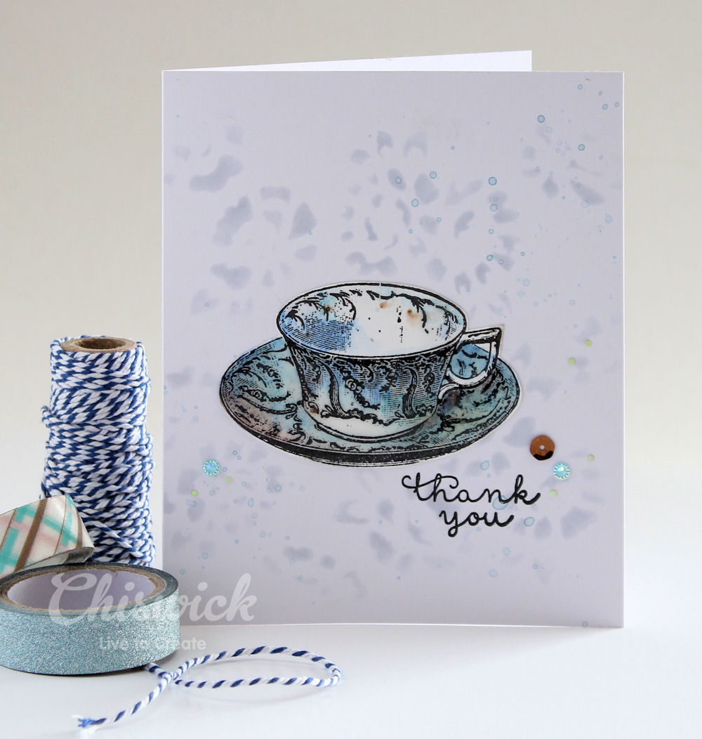 cuppa tea card