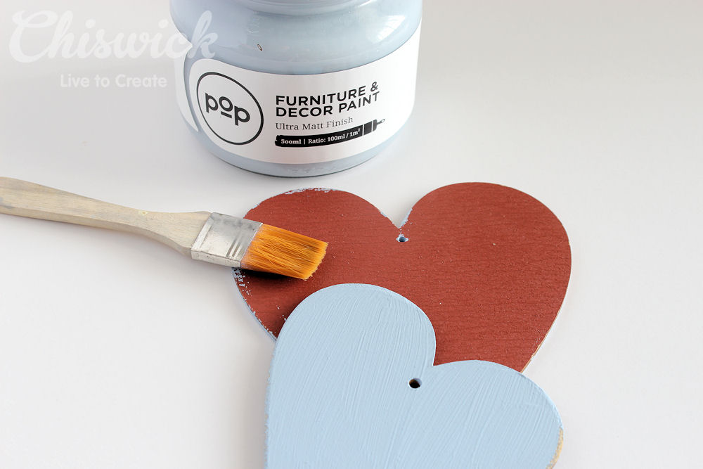 painted heart step 1